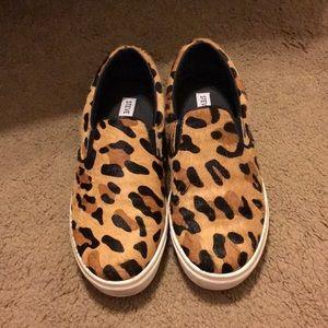 Steve Madden Cheetah Slip On Flats
